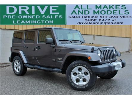 2014 Jeep Wrangler Unlimited Sahara (Stk: D0252) in Leamington - Image 1 of 21
