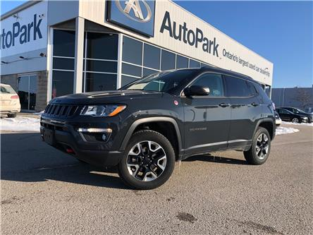 2018 Jeep Compass Trailhawk (Stk: 18-12490RJB) in Barrie - Image 1 of 28