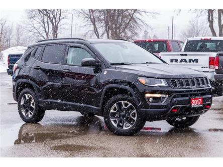 2017 Jeep Compass Trailhawk (Stk: 27342UX) in Barrie - Image 1 of 30