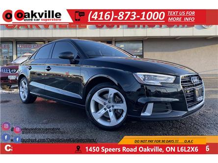 2018 Audi A3 KOMFORT | LEATHER | SUNROOF | BLUETOOTH (Stk: G0054) in Oakville - Image 1 of 19