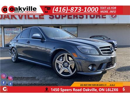 2009 Mercedes-Benz C-Class C63 AMG | LEATHER | SUNROOF | 451HP | 443LB-FT TQ (Stk: G0065) in Oakville - Image 1 of 18