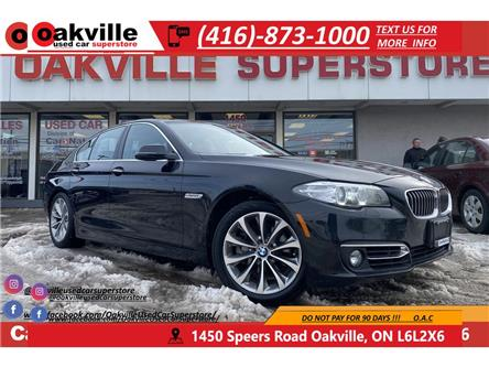 2015 BMW 5 Series 528i xDrive | NAVI | B/U CAM | HTD SEATS | SUNROOF (Stk: G0041) in Oakville - Image 1 of 21
