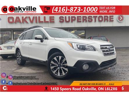 2015 Subaru Outback 2.5i LIMITED | NAVI | LEATHER | B/U CAM | SUNROOF (Stk: G0038) in Oakville - Image 1 of 23