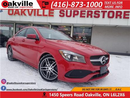 2017 Mercedes-Benz CLA-Class 4MATIC | LEATHER | PANORAMIC SUNROOF | HTD SEATS (Stk: P12899) in Oakville - Image 1 of 34