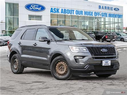 2018 Ford Explorer Sport (Stk: T1698A) in Barrie - Image 1 of 27