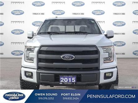 2015 Ford F-150 Lariat (Stk: 19FE418A) in Owen Sound - Image 2 of 24