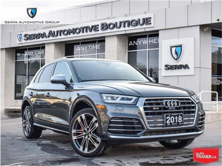 2018 Audi SQ5 3.0T Technik (Stk: SC1014) in Aurora - Image 1 of 28