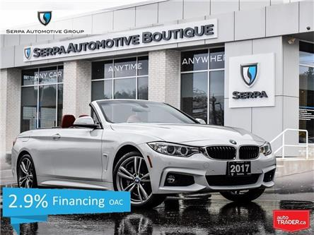 2017 BMW 440i xDrive (Stk: P1073) in Aurora - Image 1 of 29