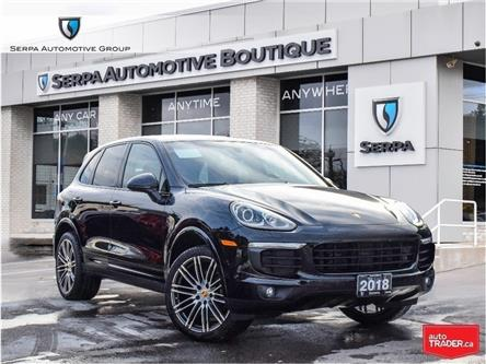 2018 Porsche Cayenne Platinum Edition (Stk: P1333A) in Aurora - Image 1 of 30
