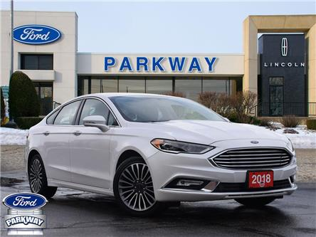 2018 Ford Fusion Titanium (Stk: P0671) in Waterloo - Image 1 of 25