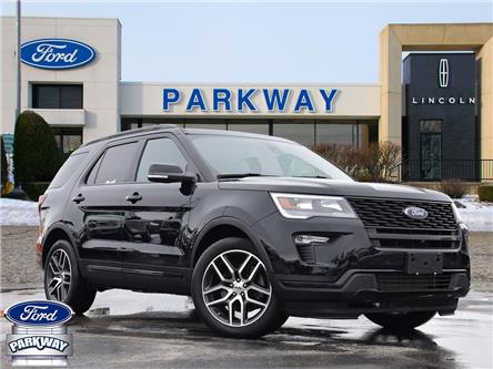 2018 Ford Explorer Sport (Stk: XA815A) in Waterloo - Image 1 of 30