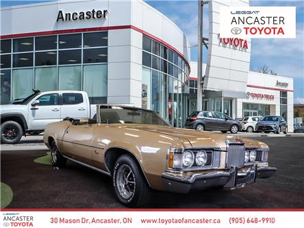 1973 Mercury Cougar XR-7 CONVERTIBLE - LEATHER INTERIOR, AUTO, A C & M (Stk: M310) in Ancaster - Image 1 of 27