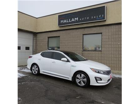 2016 Kia Optima Hybrid EX Premium (Stk: ) in Kingston - Image 1 of 18