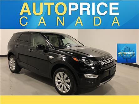 2016 Land Rover Discovery Sport HSE LUXURY (Stk: W0887) in Mississauga - Image 1 of 30