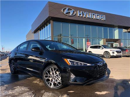 2019 Hyundai Elantra Sport (Stk: H2502) in Saskatoon - Image 1 of 22
