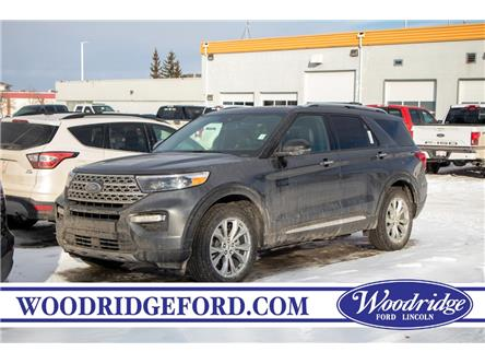 2020 Ford Explorer Limited (Stk: LK-77) in Calgary - Image 1 of 7