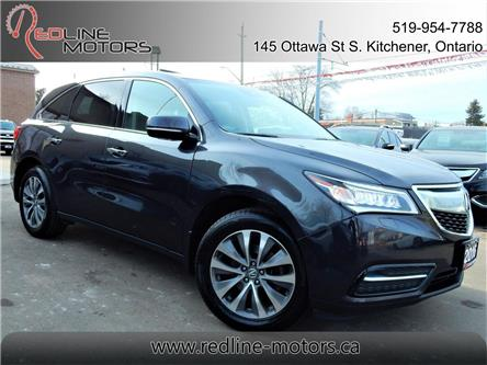 2016 Acura MDX Navigation Package (Stk: 5FRYD4) in Kitchener - Image 1 of 27
