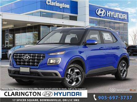 2020 Hyundai Venue Ultimate w/Black Interior (IVT) (Stk: 20142) in Clarington - Image 1 of 23