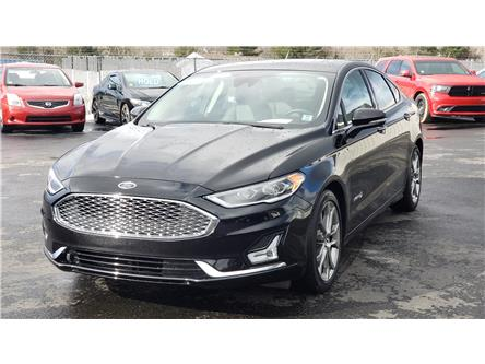 2019 Ford Fusion Hybrid Titanium (Stk: 10691) in Lower Sackville - Image 1 of 27