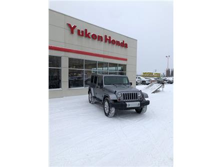 2013 Jeep Wrangler Unlimited Sahara (Stk: ) in Whitehorse - Image 1 of 4