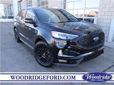 2019 Ford Edge ST (Stk: K-612C) in Calgary - Image 1 of 21