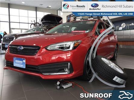 2020 Subaru Impreza 5-dr Sport-tech w/Eyesight (Stk: 34113) in RICHMOND HILL - Image 1 of 12