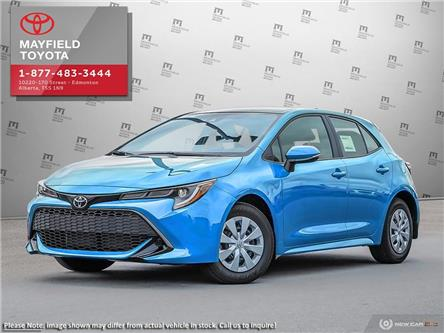 2020 Toyota Corolla Hatchback Base (Stk: M001092) in Edmonton - Image 1 of 24