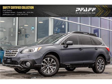 2017 Subaru Outback 3.6R Limited (Stk: SU0176) in Guelph - Image 1 of 12