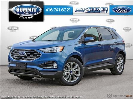 2020 Ford Edge Titanium (Stk: 20H7545) in Toronto - Image 1 of 22