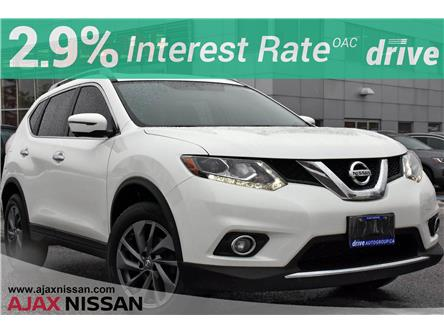 2016 Nissan Rogue SL Premium (Stk: V022A) in Ajax - Image 1 of 38