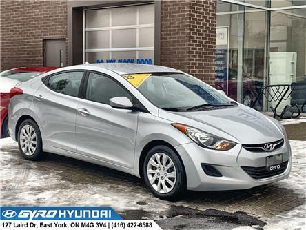 2013 Hyundai Elantra GL (Stk: H5468A) in Toronto - Image 1 of 27