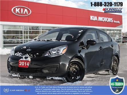 2014 Kia Rio LX (Stk: KT149A) in Kanata - Image 1 of 27