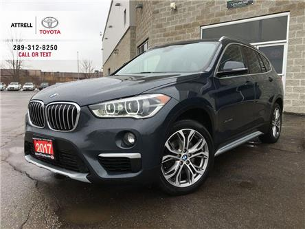 2017 BMW X1 XDRIVE28I LEATHER, ALLOYS, FOG LAMPS, PANO SUNROOF (Stk: 45505A) in Brampton - Image 1 of 26
