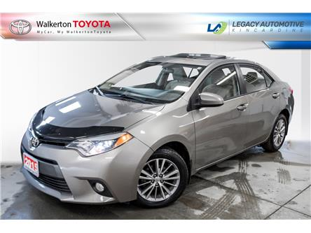 2015 Toyota Corolla LE (Stk: 20115B) in Walkerton - Image 1 of 15