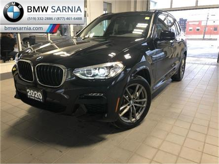 2020 BMW X3 xDrive30i (Stk: BF2025) in Sarnia - Image 1 of 11