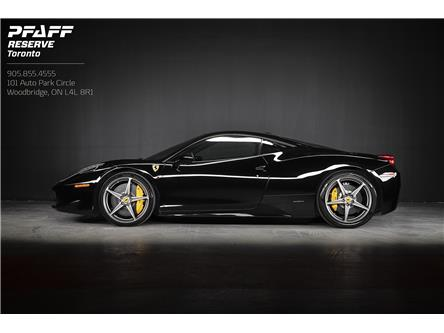 2011 Ferrari 458 Italia Base (Stk: ES003) in Woodbridge - Image 1 of 19