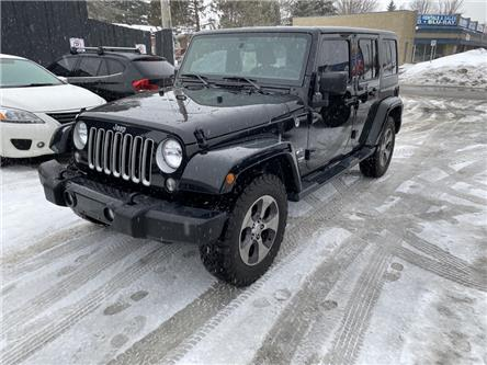 2018 Jeep Wrangler JK Unlimited Sahara (Stk: 20017) in North Bay - Image 1 of 14