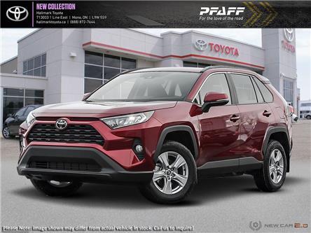 2020 Toyota RAV4 FWD XLE (Stk: H20383) in Orangeville - Image 1 of 24