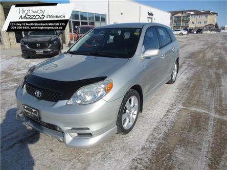 2003 Toyota Matrix 5-door XRS FWD 6M (Stk: A0279A) in Steinbach - Image 1 of 23