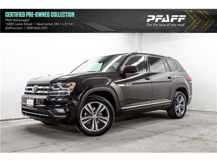 2019 Volkswagen Atlas 3.6 FSI Execline (Stk: 19864) in Newmarket - Image 1 of 22