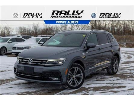2018 Volkswagen Tiguan Highline (Stk: V1043) in Prince Albert - Image 1 of 11