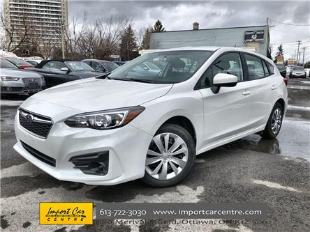 2018 Subaru Impreza Convenience (Stk: 750536) in Ottawa - Image 1 of 24