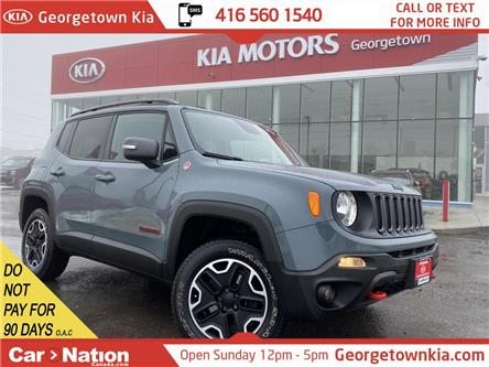2015 Jeep Renegade TRAILHAWK   4X4   HTD SEAT/WHL   45,398KMS   CAM (Stk: P13180) in Georgetown - Image 1 of 31