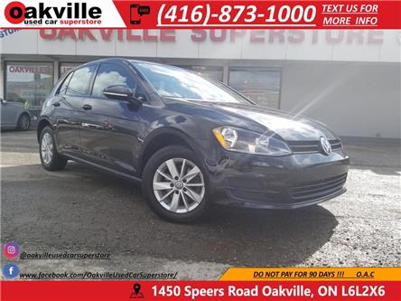 2016 Volkswagen Golf COMFORTLINE I B/U CAM I HEATED SEATS I BLUETOOTH (Stk: P0024) in Oakville - Image 1 of 25