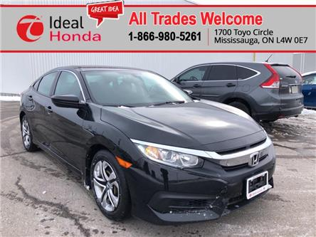 2016 Honda Civic LX (Stk: I200099A) in Mississauga - Image 1 of 16
