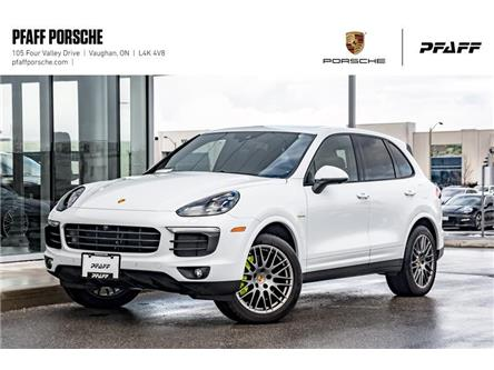 2018 Porsche Cayenne S e-Hybrid Platinum Edition (Stk: PD12253) in Vaughan - Image 1 of 22