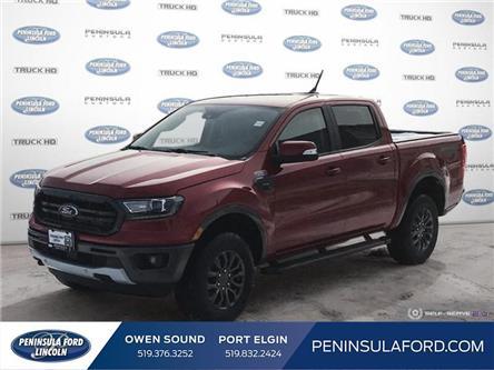 2020 Ford Ranger Lariat (Stk: 20RA14) in Owen Sound - Image 1 of 24