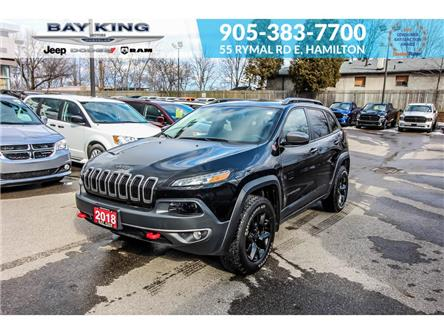 2018 Jeep Cherokee Trailhawk (Stk: 207556A) in Hamilton - Image 1 of 26