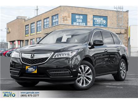 2016 Acura MDX Technology Package (Stk: 508737) in Milton - Image 1 of 22