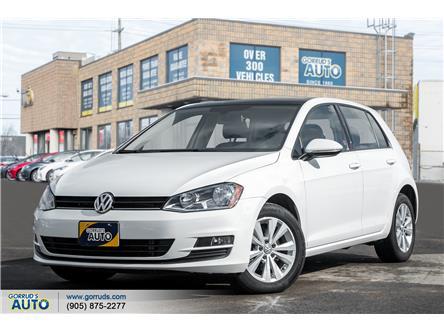 2017 Volkswagen Golf 1.8 TSI Comfortline (Stk: 038806) in Milton - Image 1 of 19